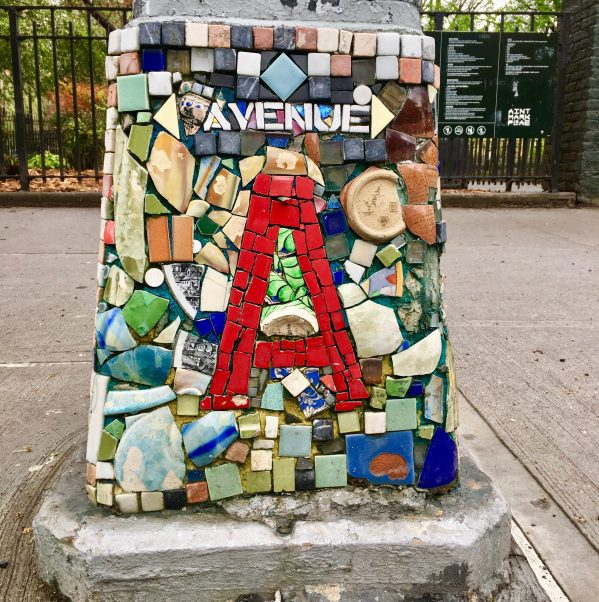 avenue a tile mosaic by jim power photo by gail worley