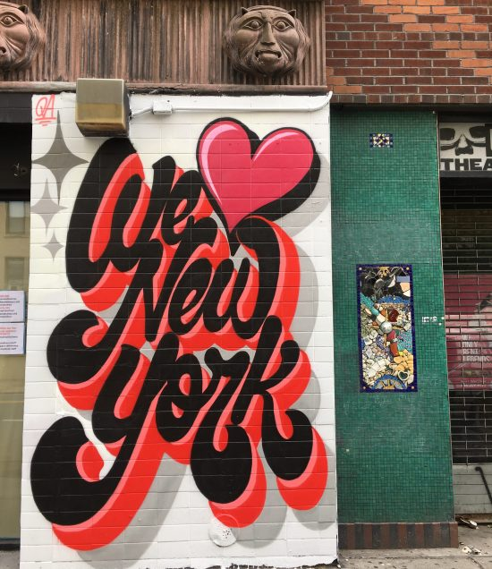 we love new york mural by queen andrea photo by gail worley
