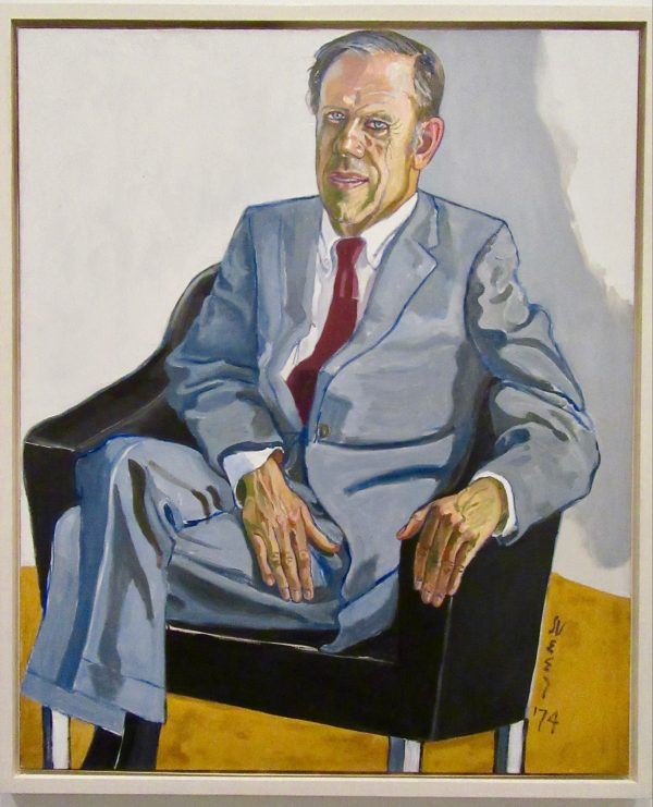 john i h bauer by alice neel photo by gail worley