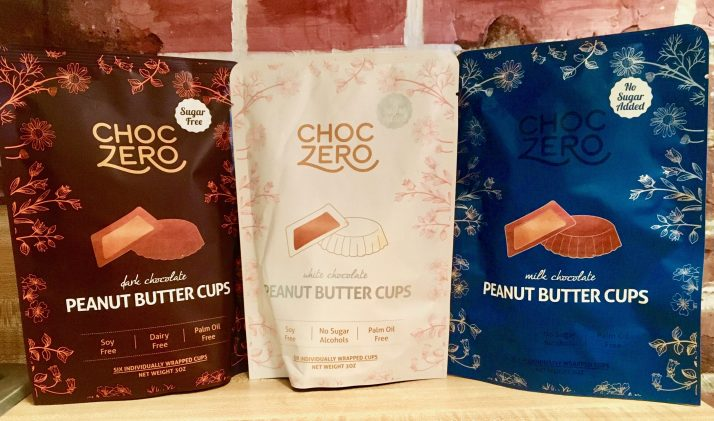 choc zero packaging trio