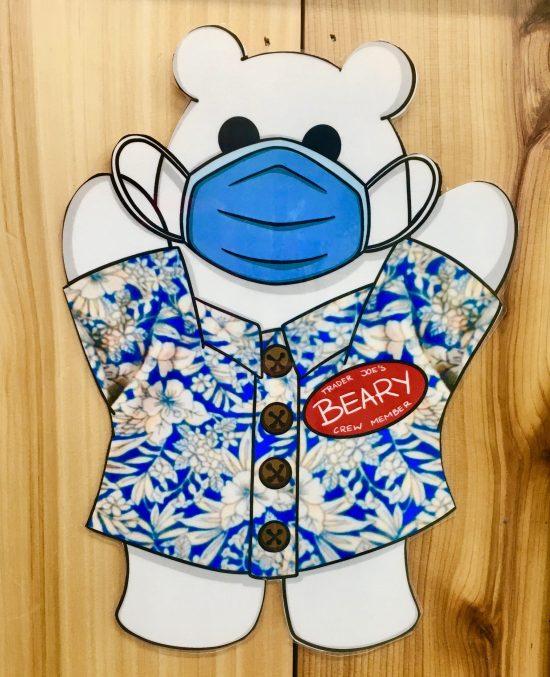 trader joes mascot beary
