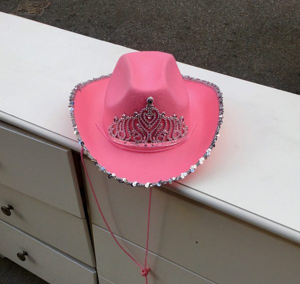 pink cowboy hat photo by gail worley