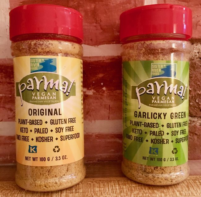parma vegan parmesan packaging photo by gail worley