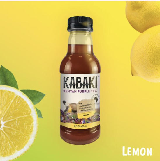 kabaki purple tea lemon