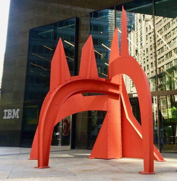 alexander calder saurien sculpture photo by gail worley