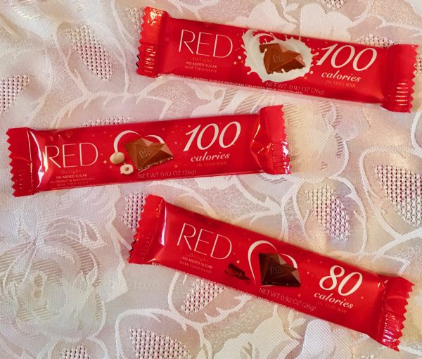 grab and go red chocolate bars photo by gail worley