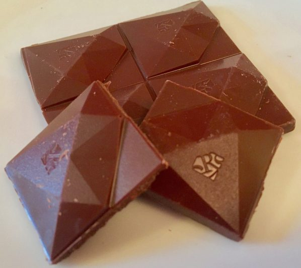 red milk chocolate unwrapped photo by gail worley