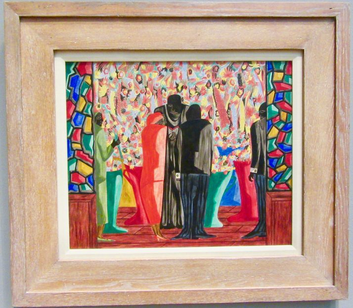 the wedding by jacob lawrence photo by gail worley