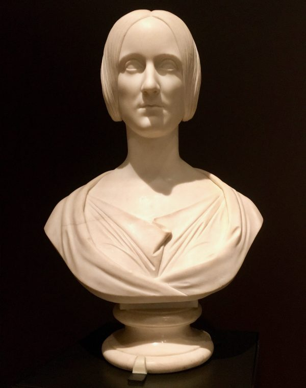 bust of mary shelley photo by gail worley