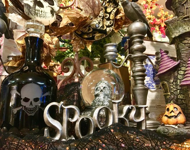 halloween decor photo by gail worley